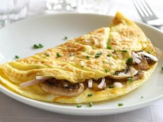 omelette mit schinken und pilzen rezept von hot 39 n 39 spice82 alle. Black Bedroom Furniture Sets. Home Design Ideas