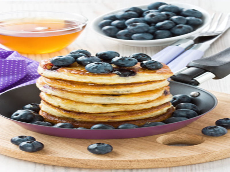 blueberry pancakes rezept von olaf alle. Black Bedroom Furniture Sets. Home Design Ideas
