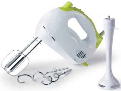 hand r hrger t einhand mixer mixerset mit r hraufsatz knethaken test. Black Bedroom Furniture Sets. Home Design Ideas