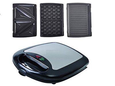 3in1 sandwichmaker waffeleisen kontaktgrill sandwichtoaster test. Black Bedroom Furniture Sets. Home Design Ideas
